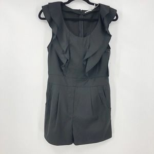 Urban Outfitters Romper Ruffle Frill Kimchi Blue